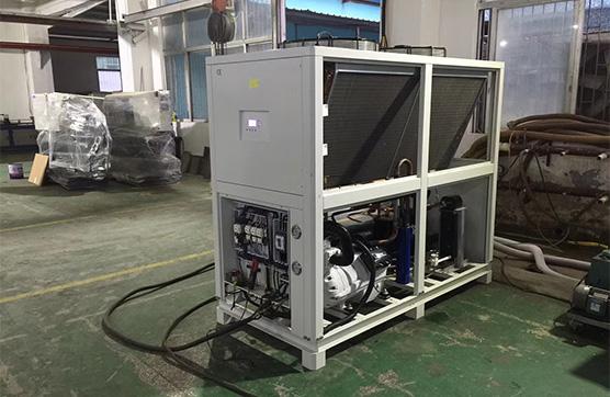 工业冷水机组中压缩机五大润滑方法